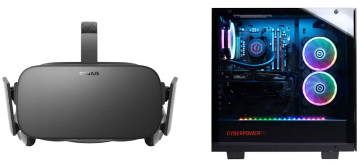 Basic VR with a PC