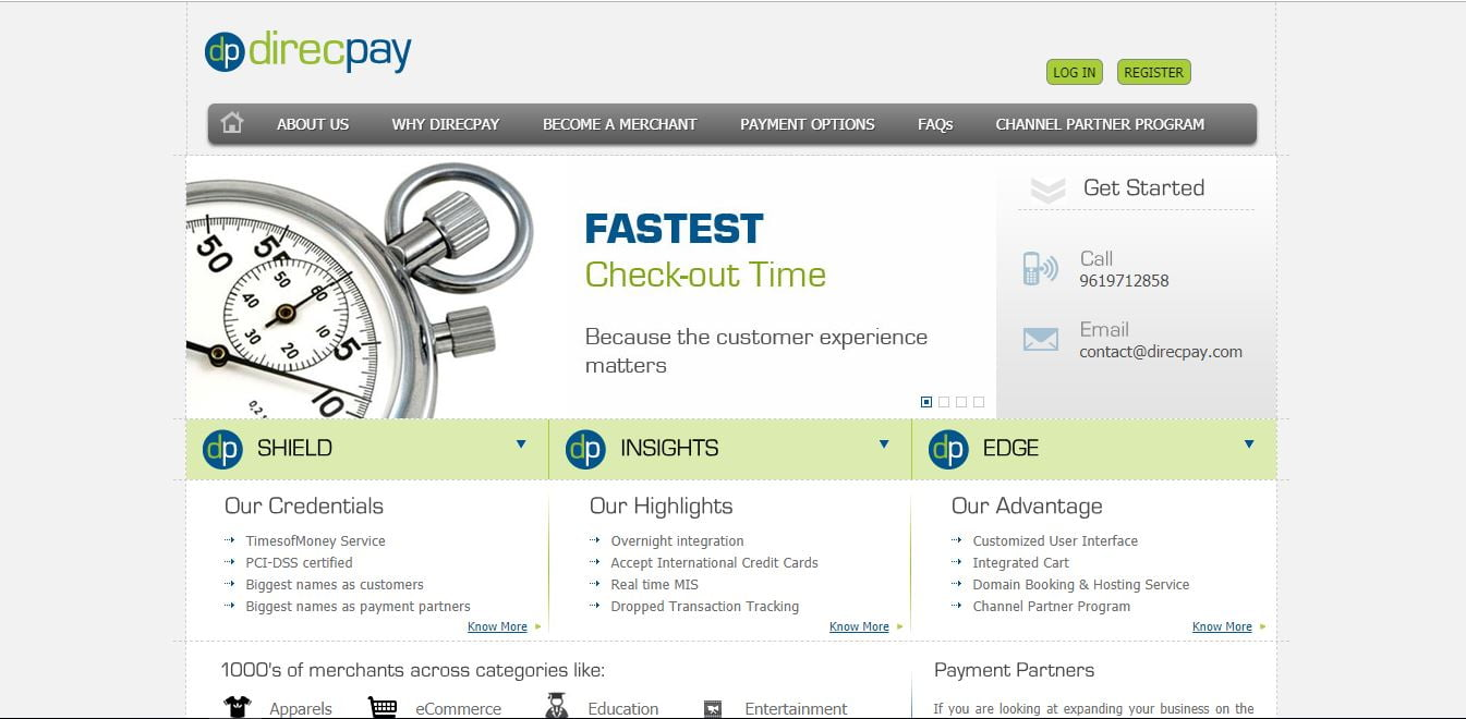 DirecPay payment gateway